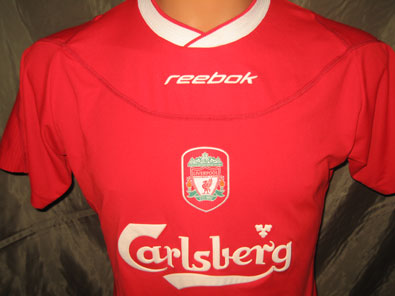 Liverpool FC home 2002-2004 woman football shirt size M