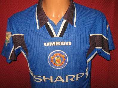 Manchester United away 1996-1997 Y / XS #1124