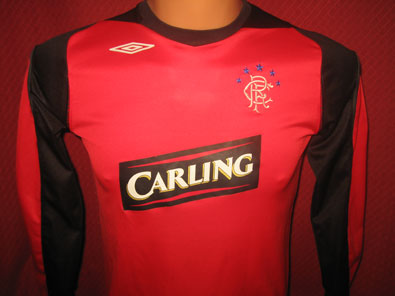 Glasgow Rangers goalkeeper 2006-2007 LB #1220