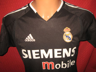 Real Madrid away shirt season 2004-2005 size XLB / XS #fv135