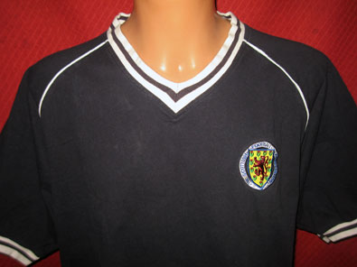 Scotland 1982 World Cup Score Draw Official Replica size XXL