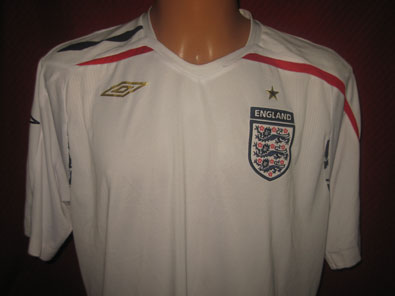 England home shirt 2007-2009 size XL